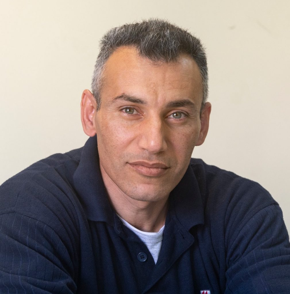 Ahmed Helou, Palestinian Peace Activist with Combatants for Peace