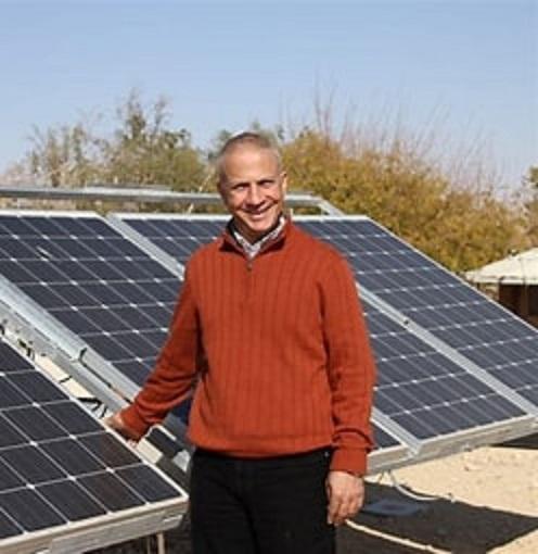 Dr. Tareq Abu Hamed, Director of the Arava Institute for Environmental Studies