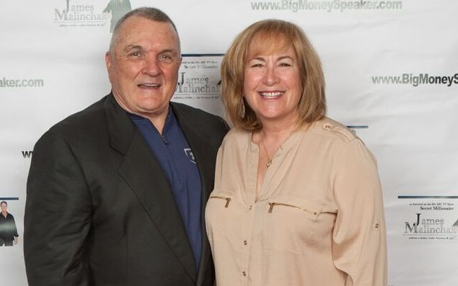 Penny S. Tee with Rudy Ruettiger