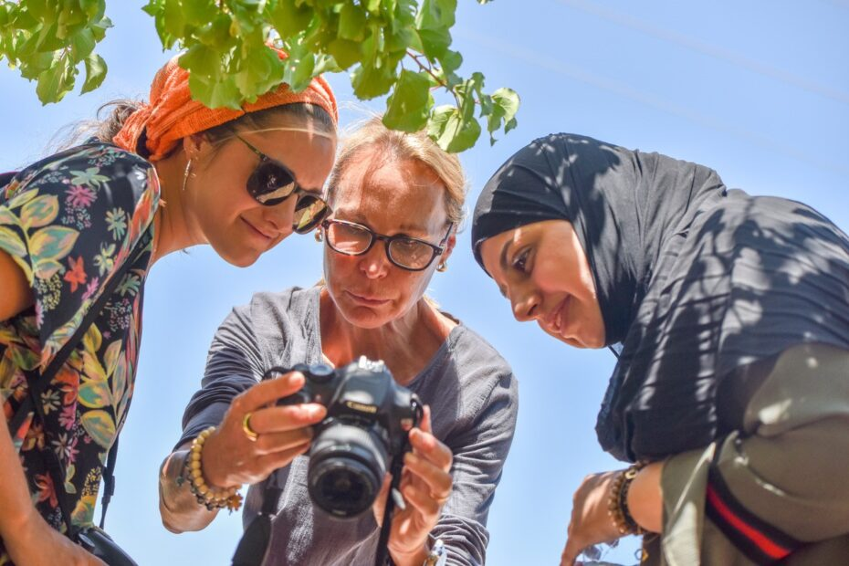 Saskia Keeley & Israeli & Palestinian Photography Students